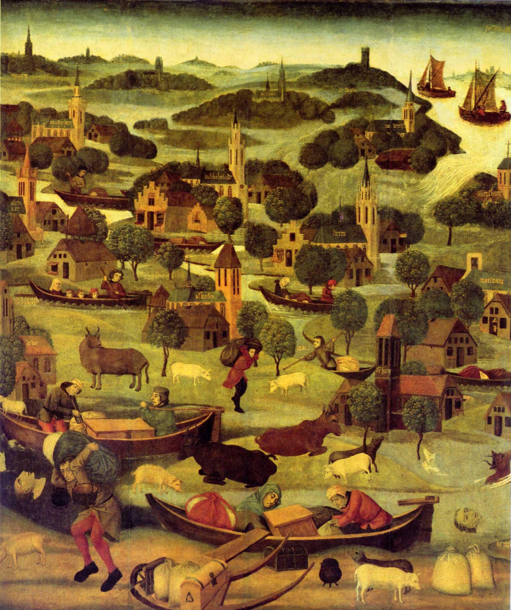 Sint Elisabethsvloed 1421